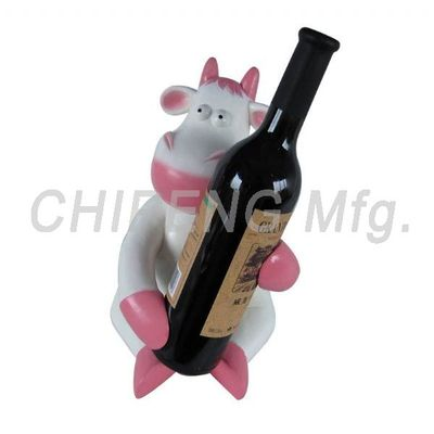 Cow Wine Holder