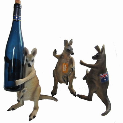 Kangaroo Wine Holder