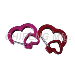 Heart Design Rubit Clips 18005