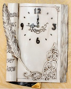 Custom Polyresin Clocks