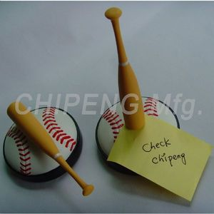 Baseball Design Memo Holder