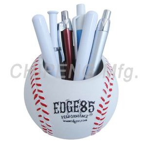 Baseball Pen Holder