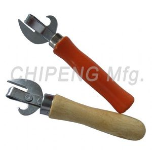 Wood Handle Can Opener Bottle Opener