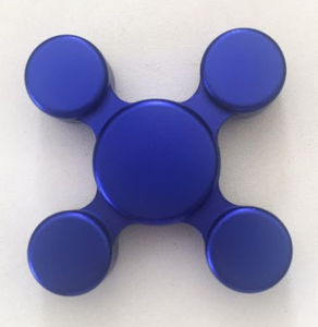 Stress Reliver Fidget Spinner with four angle gyro 1933003